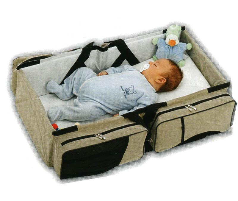 Bolsa de viaje convertible en cuna regalos valorados en - Cunas para bebes recien nacidos ...