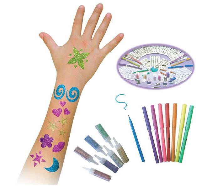 juguete para hacer tatuajes. TALLER DE TATUAJES TATTOO CHIC (+7A) Precio: 17,95€