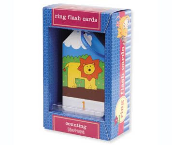 RING FLASH CARDS NUMBERS
