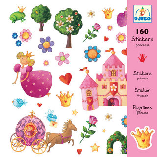 160 STICKERS DJECO MINIEBILLIE (+3A-99A)